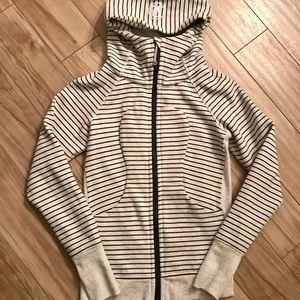 Lululemon Scuba Full Zip Hooded Sweatshirt